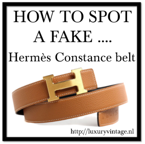 How To Spot Fake Hermes Belt Buckle